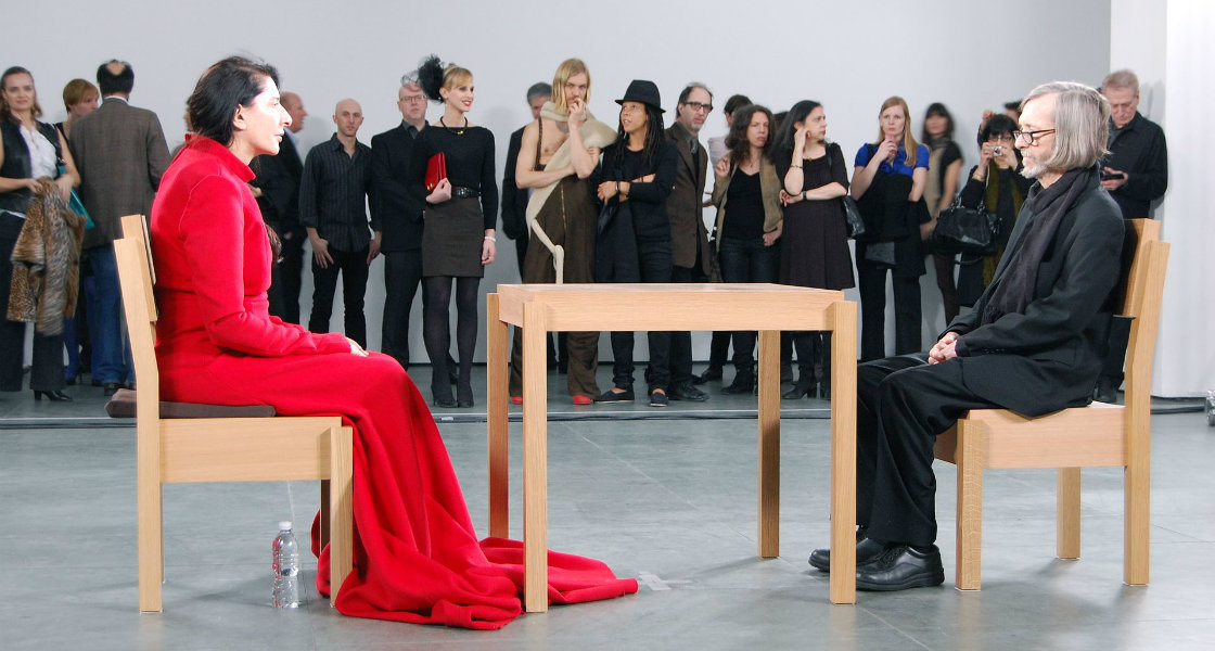 Marina Abramović, The Artist is Present, 2010