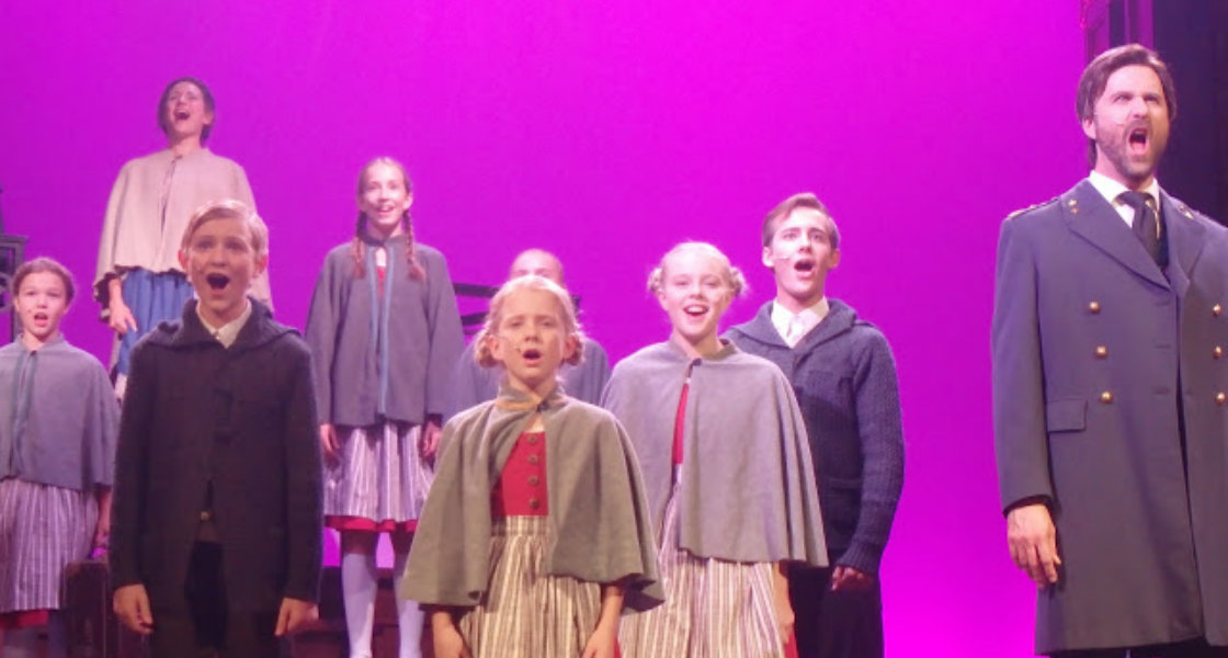 The Sound of Music på Intiman 2018. Foto: Belinda Graham