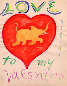 E.E. Cummings Valentine till Marion Morehouse