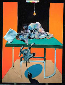 Francis Bacon, «Two figures with a monkey»