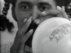 Anthony Ramos, Balloon Nose Blow-Up, 1972, 11:18 min, b&w, sound