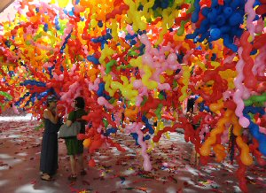Choi Jeong Hwa, Life. Life, installation, Central Gallery, Perth, 2012
