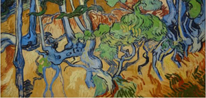 Vincent van Gogh Tree Roots 1891