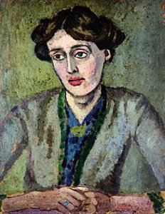 Roger Fry. Porträtt av Virginia Woolf     (Wikipedia)