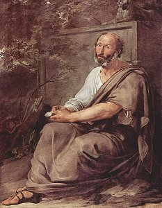 Aristoteles av Francesco Hayez