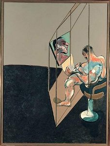 Francis Bacon Three Studies of the Male Back 1970