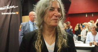 Patti Smith, en äkta ikon. Foto Belinda Graham